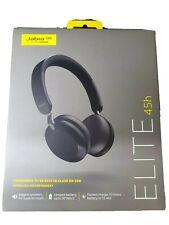 Jabra Elite 45h On-ear Wireless Headphones - Titanium Black - Brand New