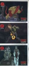 Hellboy Animated Complete Box Loader Chase Card Set BL1-3