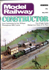 More details for  joblot 6 model railway constructor magazines from 1973 issues  vg cond