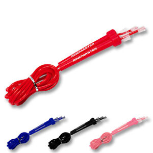 RingMaster Sports Jump Rope Skipping Adjustable PVC Fitness Boxing Cardio Speed