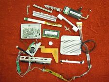 """12"""" G4 iBook A1054 Screws Fan Caddy Video Cable Inverter Memory Etc. #374-47"""