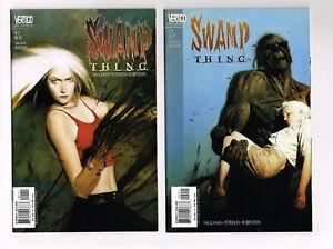 SWAMP THING #1 & #2  VERTIGO/DC COMICS 2000 NM+ VAUGHAN & PETERSEN HORROR