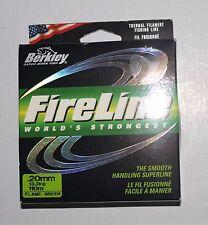 PROMO: Tresse Berkley Fireline 0.20mm 13.2kg 110m flame green