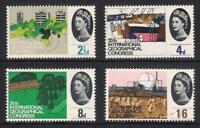 GB 1964 sg651-54 20th International Geographical Congress ordinary set MNH