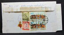 Thailand Express Airmail Letter to Japan Luftpost Flugpost Brief Asien (L-2306