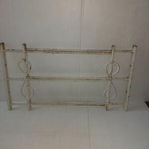 Vintage Adjustable Iron Window Guard Grate