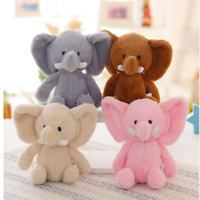Cute Elephant Soft Plush Toy Baby Stuffed Animal Kids Toys Lovely Gift For Child