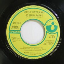 Rock 45 Little River Band - So Many Paths / Reminiscing On Emi