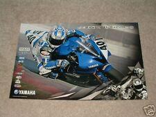 Jason Disalvo #40 Yamaha 2006 Poster R1 R6 Dunlop