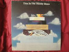 THIS IS THE MOODY BLUES VINYL 2XLP 1974 THRESHOLD RECORDS 2 THS 12/13 VG+