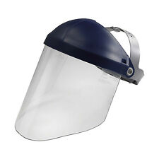Clear Hard Face Shield Visor Eye Chin Face Sanding Grinding Protector Mask