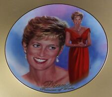 Diana: A Woman of Style Forever, Diana Plate #1 First Issue Princess Di Lovely!