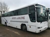 volvo 54 seater coach