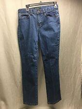 Lauren Jeans Co By Ralph Lauren Size 8P Ladies Medium Wash Jeans -EUC
