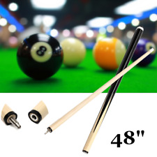 1Pcs 120cm 1/2 Structure Wooden Pool Cues Billiard House Bar Pool Cues Sticks