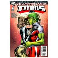Blackest Night: Titans #1 in Near Mint condition. DC comics [*gh]