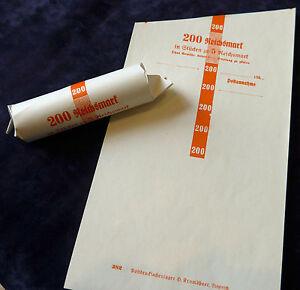 Drittes Reich - 50 Blatt Rollenpapier - 5 Mark Hindenburg Rollpapier Handrollen