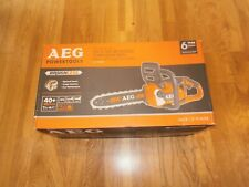AEG CHAINSAW 18V Brushless 6.0Ah - Without battery and charger ACS18B30-0