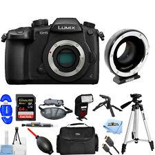 Panasonic DC-GH5 Micro 4/3 Camera Body W/ Metabones T Speed Booster Ultra 0.71x
