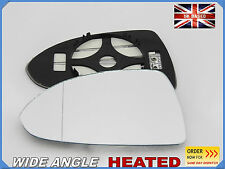 OPEL CORSA D 2006-2014 Wing Mirror Glass Wide Angle HEATED Left Side /F028