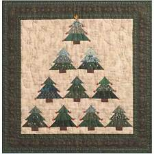 O' CHRISTMAS TREE WALL QUILTING PATTERN, from Susan's Quilt Creations, NEW