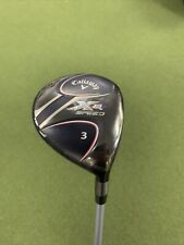 Callaway XR Speed Stiff Flex 3 Wood **SHOP SOILED**