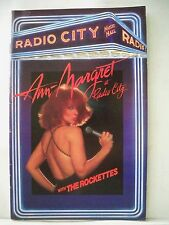 ANN-MARGRET Playbill THE ROCKETTES Radio City Music Hall 1ST NYC APPEARANCE 1991