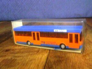 Wiking HO Standard Linienbus MB O 405 702 Wuppertaler Stadtwerke AG