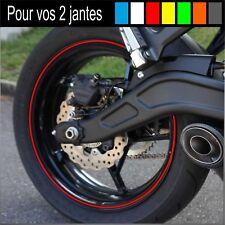 LISERET JANTE STICKER AUTOCOLLANT TOUTES MOTO 6mm 40 couleurs dispo