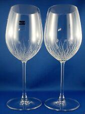 Arnie & Trudy Gautsch ART GLASS ASPECTS (2 Pc) Hand Eteched Stemmed Wine Glasses
