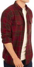 Mens  Longsleeve Button Down Plaid Flannel Collar Shirt