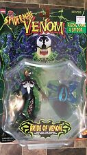 ALONG CAME A SPIDER Marvel Comics -BRIDE OF VENOM Action Figure TOY BIZ 1999