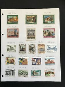 Italy Stamps - Architecture