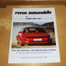 TOYOTA CELICA 2.0 GTi et 4WD TURBO ROAD TEST REPRINT 1989 In French