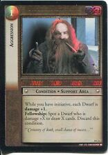 Lord Of The Rings CCG Foil Card SoG 8.C1 Aggression