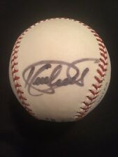 Kirby Puckett Autographed Major League Baseball JSA Letter of Authenticity