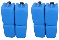 8 x 20 L Kanister blau Camping Plastekanister Kunststoffkanister Behälter Kanne