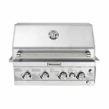 KitchenAid 740-0780 4-Burner Built-in Propane Gas Grill