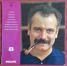 """GEORGES BRASSENS LP ORIG 25 CM  10 """"  N°8"""