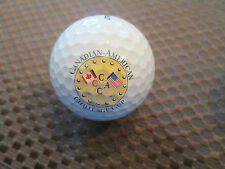 LOGO GOLF BALL-CANADIAN-AMERICAN CHALLENGE CUP....GOLF