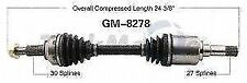 TrakMotive GM8278 Left New CV Complete Assy