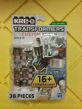Transformers Kre-o Custom Kreon Soundwave 36 Pieces NEW FREE SHIP US