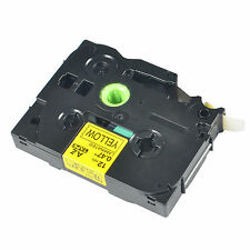 1PK TZ-631 TZe-631 Black on Yellow Label Tape For Brother P-Touch PT-320 12mmx8m