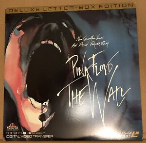Pink Floyd - The Wall. Extended Play Laserdisc. Dolby Stereo
