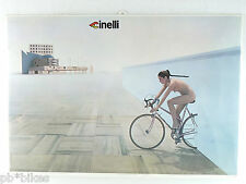 Cinelli Poster Iconic image Thick standup display as well Vintage Bicycle