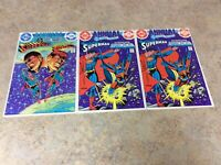 DC COMICS PRESENTS ANNUAL 1,2,2  LOT OF 3 VF COMIC 1982-1983  DC