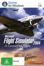 Microsoft Flight Simulator 2004: A Century of Flight *BRAND NEW* PC