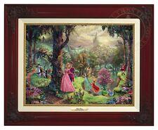Thomas Kinkade - Sleeping Beauty – Canvas Classic (Brandy Frame)