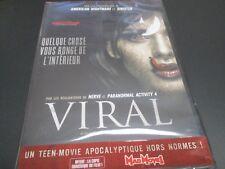 """DVD NEUF """"VIRAL"""" film d'horreur de Henry JOOST & Ariel SCHULMAN"""