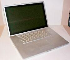 """Apple PowerBook 5,5 G4 17"""" A1085 1.5GHz, 512mb RAM OS10.5 Leopard"""